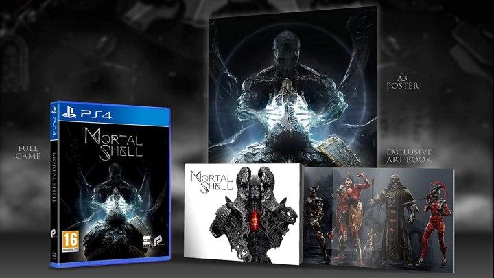 La edición física de Mortal Shell se retrasa unas semanas y llegará el 23 de octubre