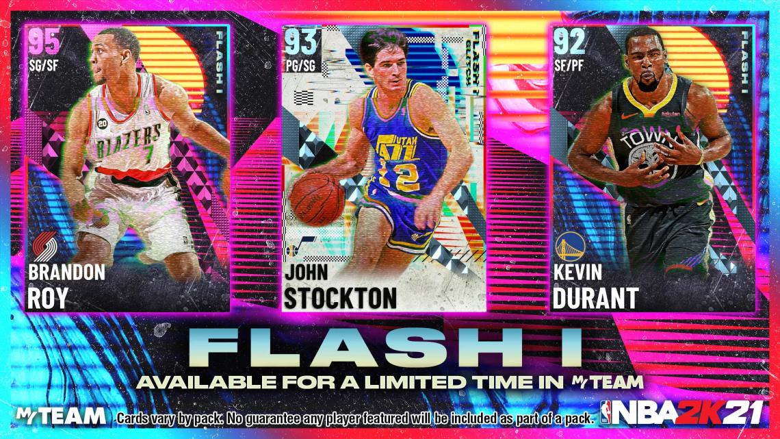 El primer Pack Flash llega al MyTeam de NBA 2K21