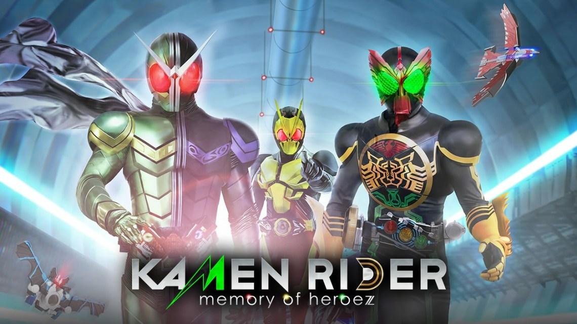 Kamen Rider: Memory of Heroez recibe un nuevo tráiler