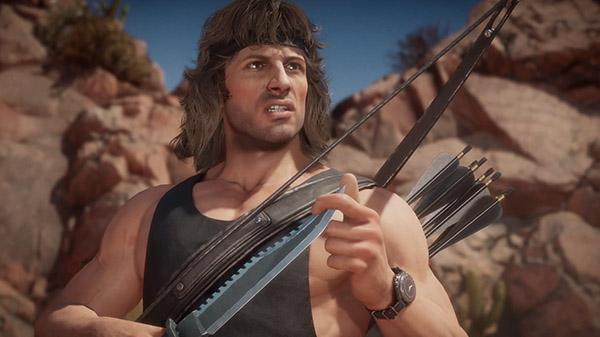 Mortal Kombat 11 nos presenta a Rambo en un vídeo inédito