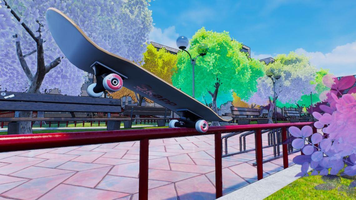 Skapp, el juego de skateboard de PlayStation Talents, arranca su campaña en Kickstarter