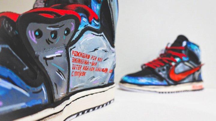 Así lucen las Nike Jordan inspiradas en Metal Gear Solid
