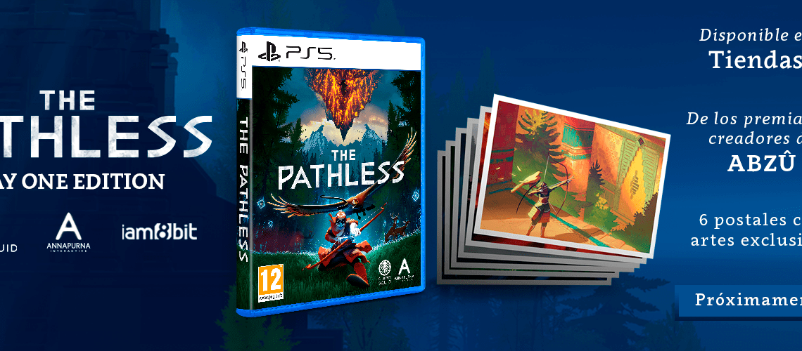 Meridiem Games distribuirá en España la edición física de The Pathless para PS5