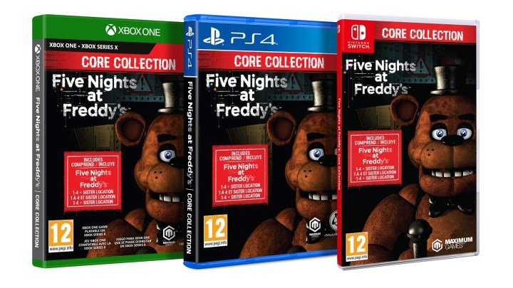 Anunciadas las ediciones físicas de Five Nights at Freddy's: Help Wanted y Core Collection
