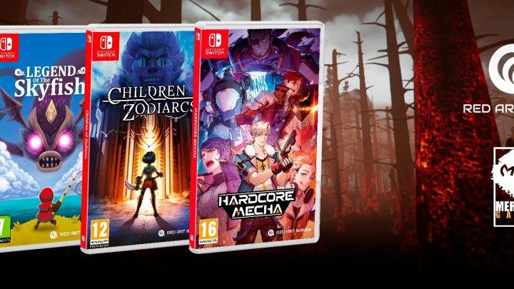 Red Art Games y Meridiem Games anuncian un acuerdo de colaboración