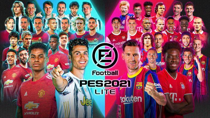 Ya disponible la versión gratuita eFootball PES 2021 LITE