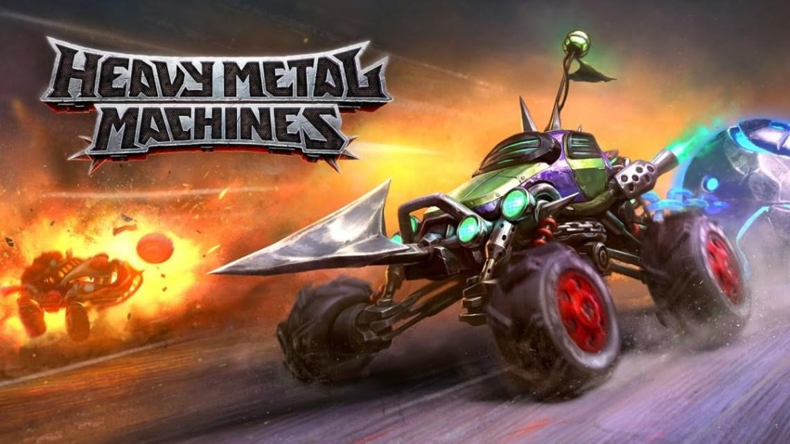 El free-to-play Heavy Metal Machines, muestra sus mecánicas en un nuevo gameplay