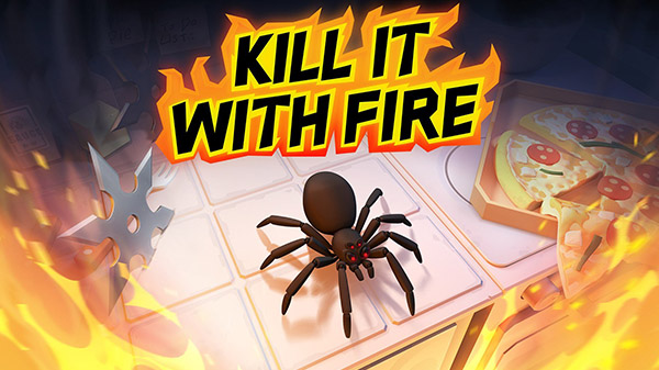 Kill It With Fire anuncia su llegada a PS4, Xbox One y Switch