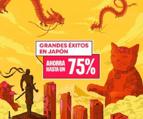Regresa a PlayStation Store la promoción 'Grandes éxitos en Japón' con descuentos del 75%