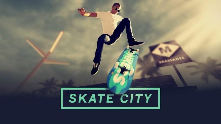 Skate City fija su fecha de lanzamiento en PS4, Xbox One, Switch y PC