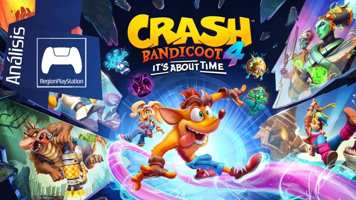 Análisis   Crash Bandicoot 4: It's About Time – PS5