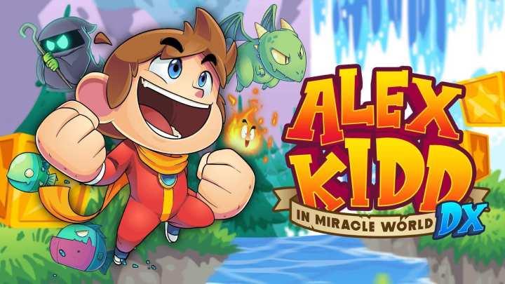 Alex Kidd in Miracle World DX se muestra en un fantástico gameplay
