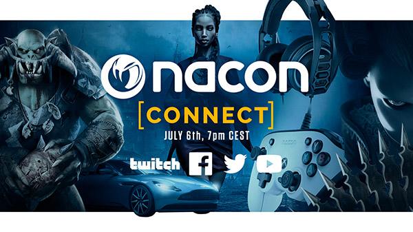 Nacon celebrará un evento el próximo mes de julio