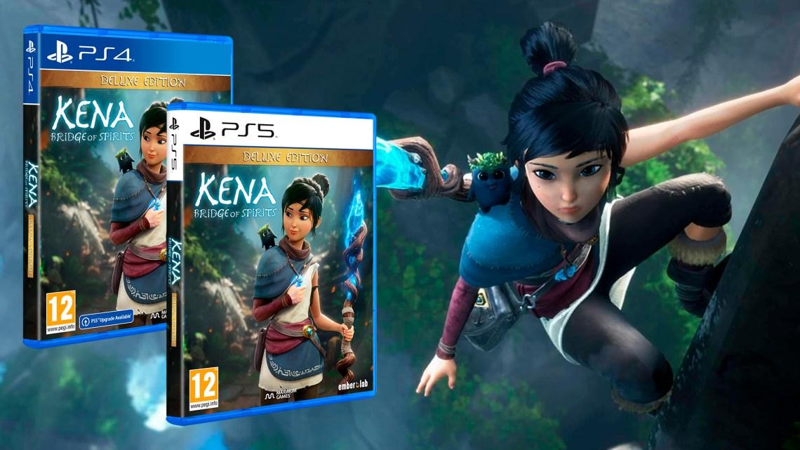 La Edición Deluxe de Kena Bridge of Spirits llegará el 19 de noviembre a PS4 y PS5