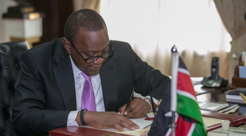 Kenyan Finance Bill 2018 Rejected by the President, proposes