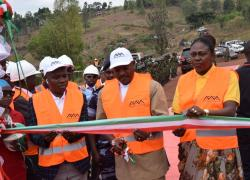 Burundi Head of State officially launched the industrial exploitation activities of the gold deposit and associated ores in Muyinga.