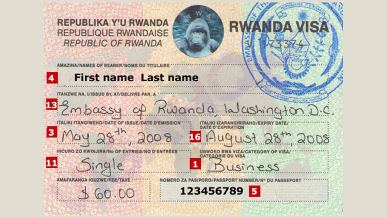 Rwandan government grants visa-free entry to 6 countries