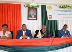 The 2nd Vice President launches the first general state Meeting of insurance in Burundi.