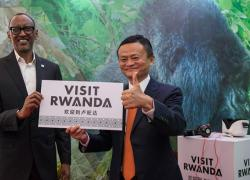 Alibaba founder Jack Ma opens the first Electronic World Trade Platform in Rwanda