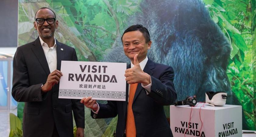 Alibaba founder Jack Ma opens the first Electronic World Trade Platform in Rwanda