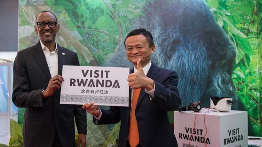 cofounder of alibaba in rwanda