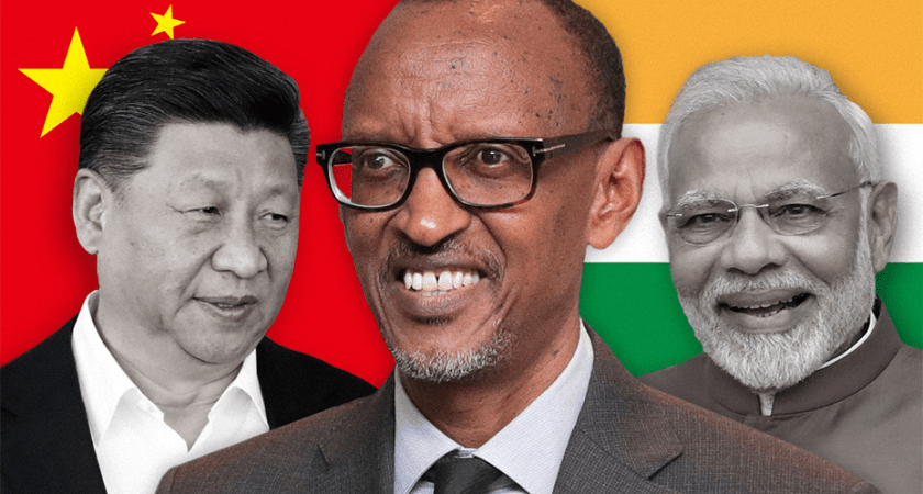 China and India locked in a game of investment in Rwanda.