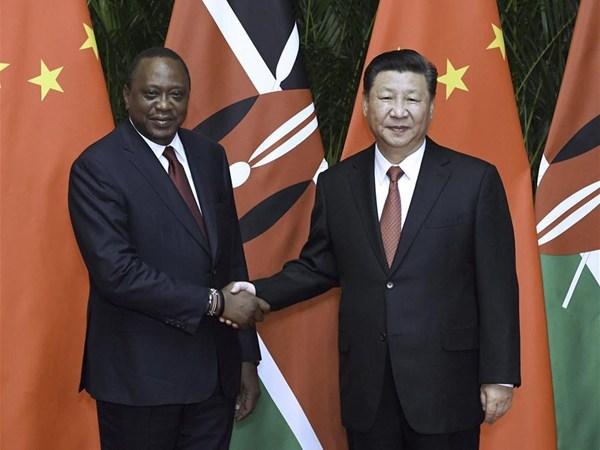 Xi Jinping and Uhuru Kenyatta agreed to deepen their cooperative partnership.