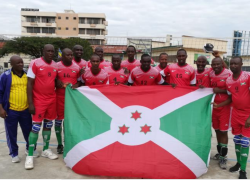 Burundi dominates the EALA teams by a 3 round sets win over zero in volleyball games.