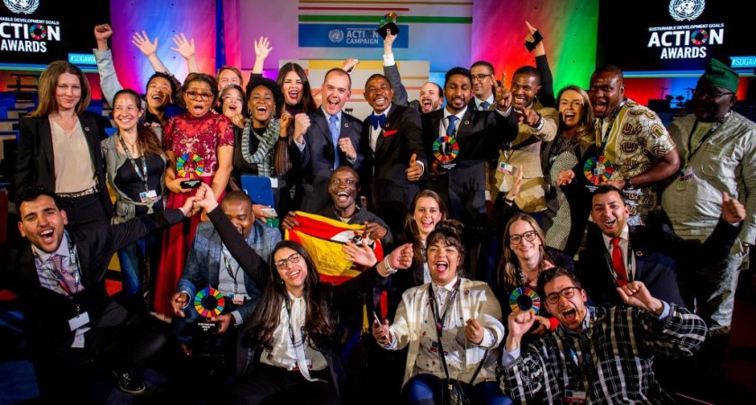 Apply for UN Sustainable Development Goals Action Awards 2019.