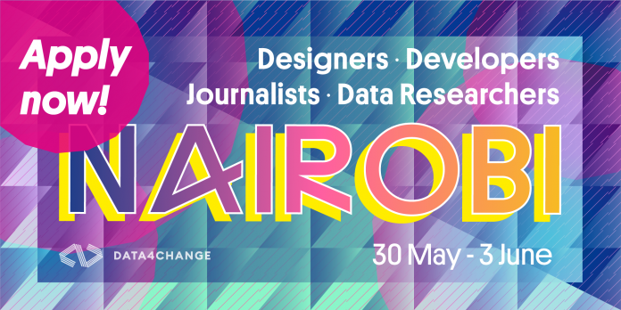 DATA4CHANGE flagship event in Nairobi for data journalists and data researchers