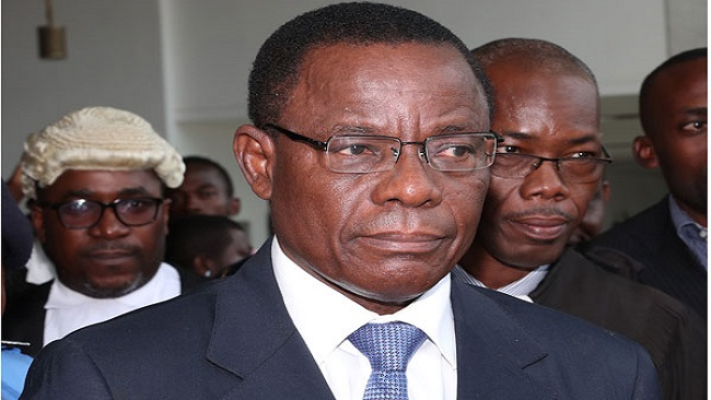 Cameroon opposition leader, Maurice Kamto, charged with 'rebellion'.