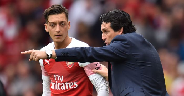 Mesut Ozil: Arsenal midfielder will be rotated, says Unai Emery