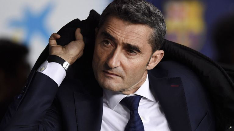 Ernesto Valverde extends his contract with FC Barcelona