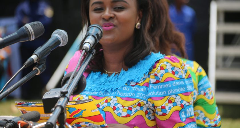 At 32,  Francine Muyumba becomes the youngest senator in DRC