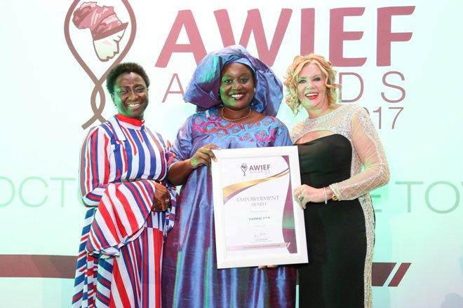 Africa Women Innovation and Entrepreneurship Forum Awards for women entrepreneurs.