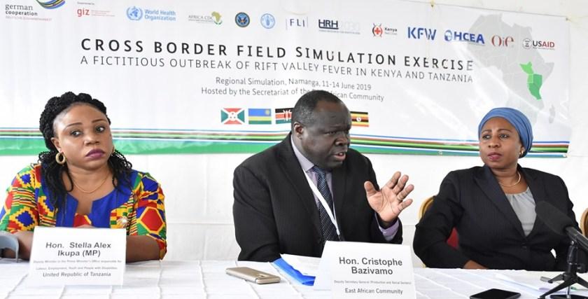 EAC Secretariat organized Field Simulation Exercise (FSX) between