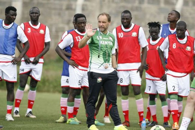 big sale 1e0ed 88a64 AFCON 2019: Harambee Stars preparations kick off in France ...