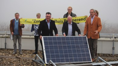 Photo of Zonnepanelen op dak stadhuis