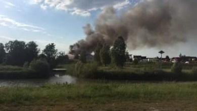 Photo of Zeer grote brand in Purmer Eend