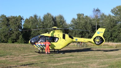 Photo of Inzet Traumahelikopter op Semerusstraat Weidevenne