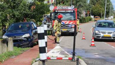 Photo of Auto ramt wegversmalling in Purmerland