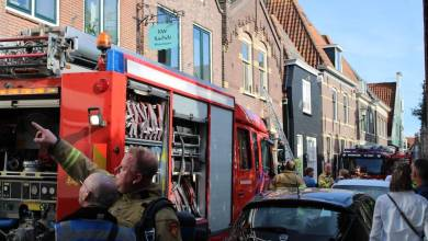 Photo of Brand in spouwmuur woning De Rijp