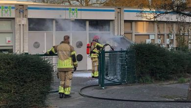 Photo of Containerbrand Montessorischool snel onder controle
