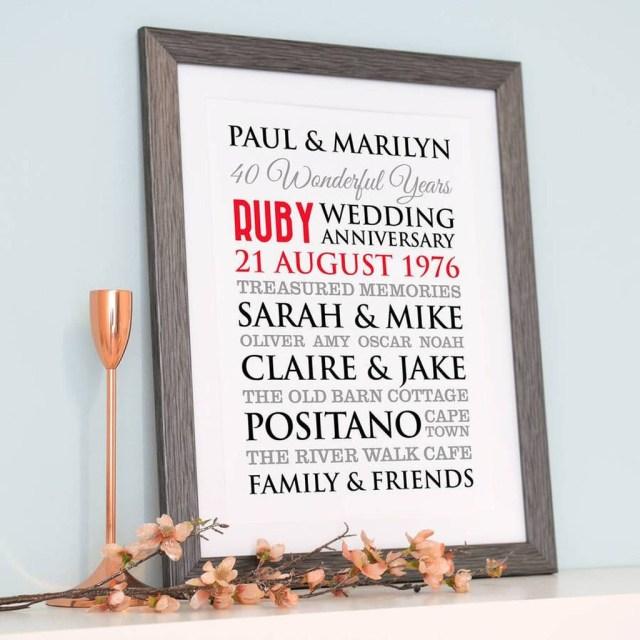 40Th Wedding Anniversary Invitations 206458 46 Fresh 40th Wedding Anniversary Invitations Graph Beautiful