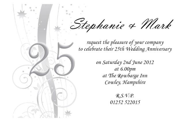 40Th Wedding Anniversary Invitations Anniversary Invitations Online 40th Wedding Anniversary Invites