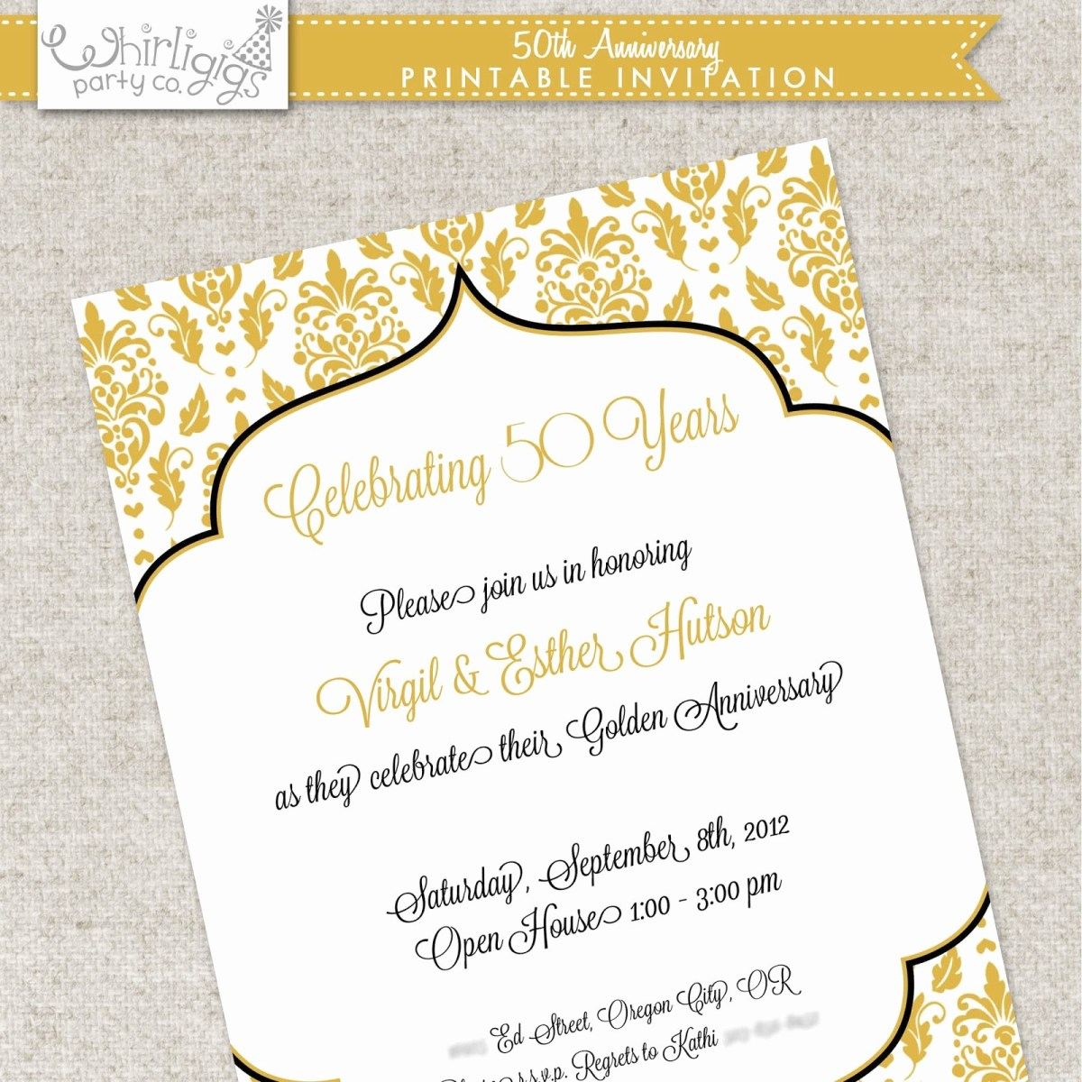 50Th Wedding Invitations 60th Wedding Anniversary Invitations Free Invitation Templates