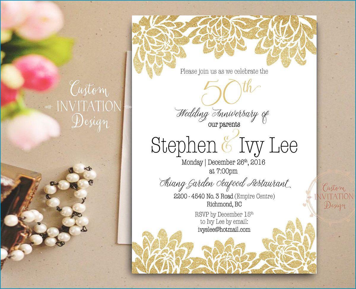 60Th Wedding Anniversary Invitations Good 60th