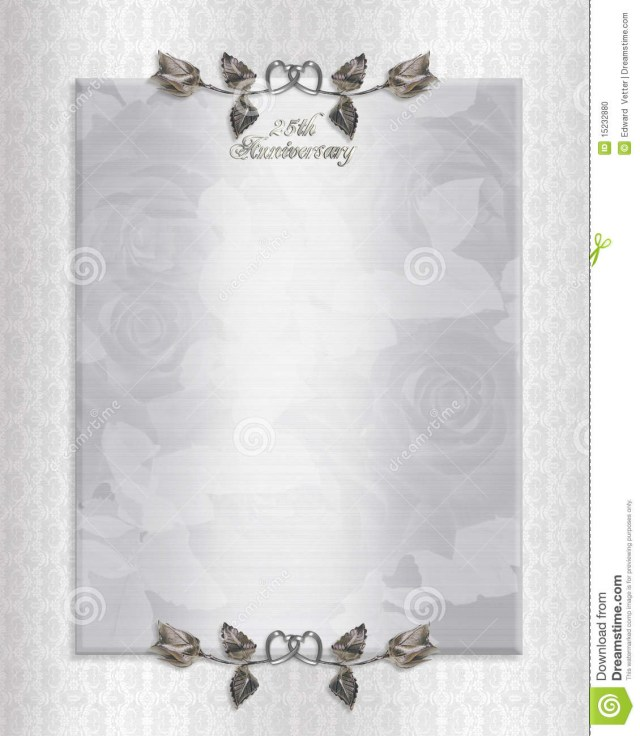 60Th Wedding Anniversary Invitations Th Silver Anniversary Invitation Good Ideas 60th Anniversary