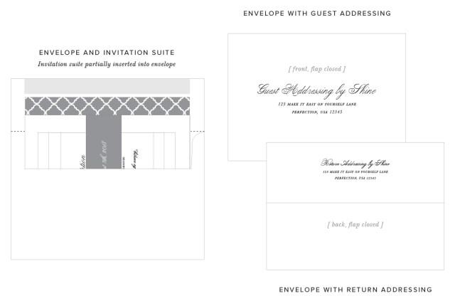 Addressing Wedding Invitations Outer Envelope Only Guest Addressing For Your Wedding Invitations Shine Wedding