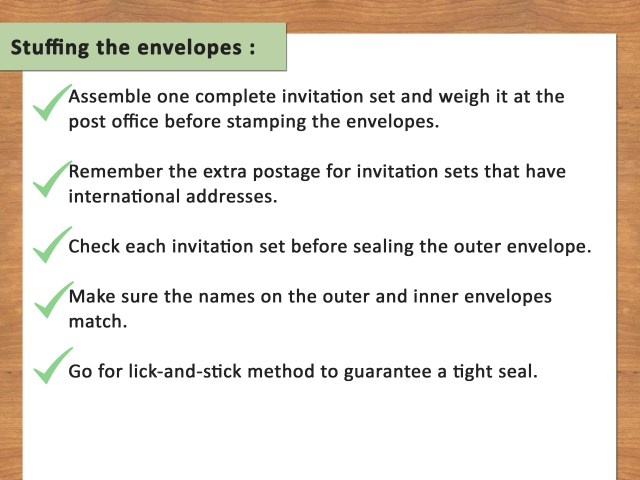 Addressing Wedding Invitations Outer Envelope Only How To Address Response Card Envelopes With Pictures Wikihow